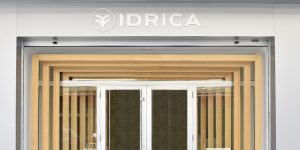Idrica headquarters door